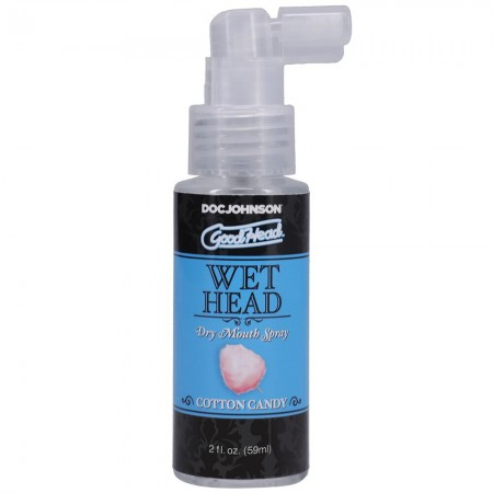 Good Head Wet Head Dry Mouth Spray Cotton Candy 59ml